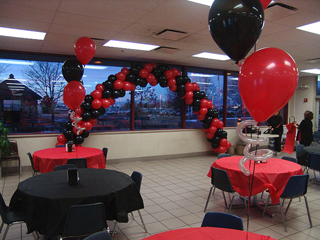 fantastic party balloon arches denver